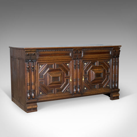 Antique Chest, French Coffer, Oak, Early 19th Century Circa 1800 - London Fine Antiques