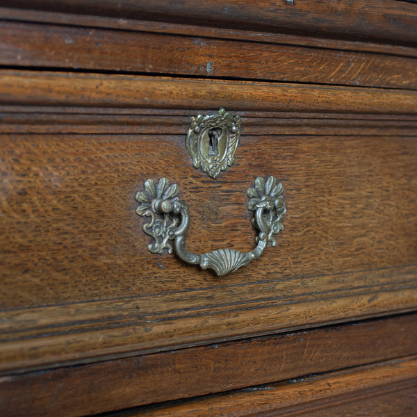 Antique Chest On Stand, English, Georgian, Oak, Chest of Drawers, Circa 1720 - London Fine Antiques