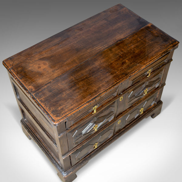 Antique Chest of Drawers, 17th Century and Later, English Oak, Circa 1690 - London Fine Antiques
