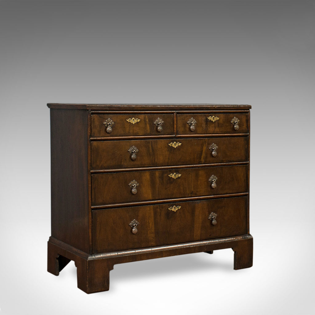 Antique Chest of Drawers, English, Regency, Mahogany, Chest, Early 19th Century - London Fine Antiques