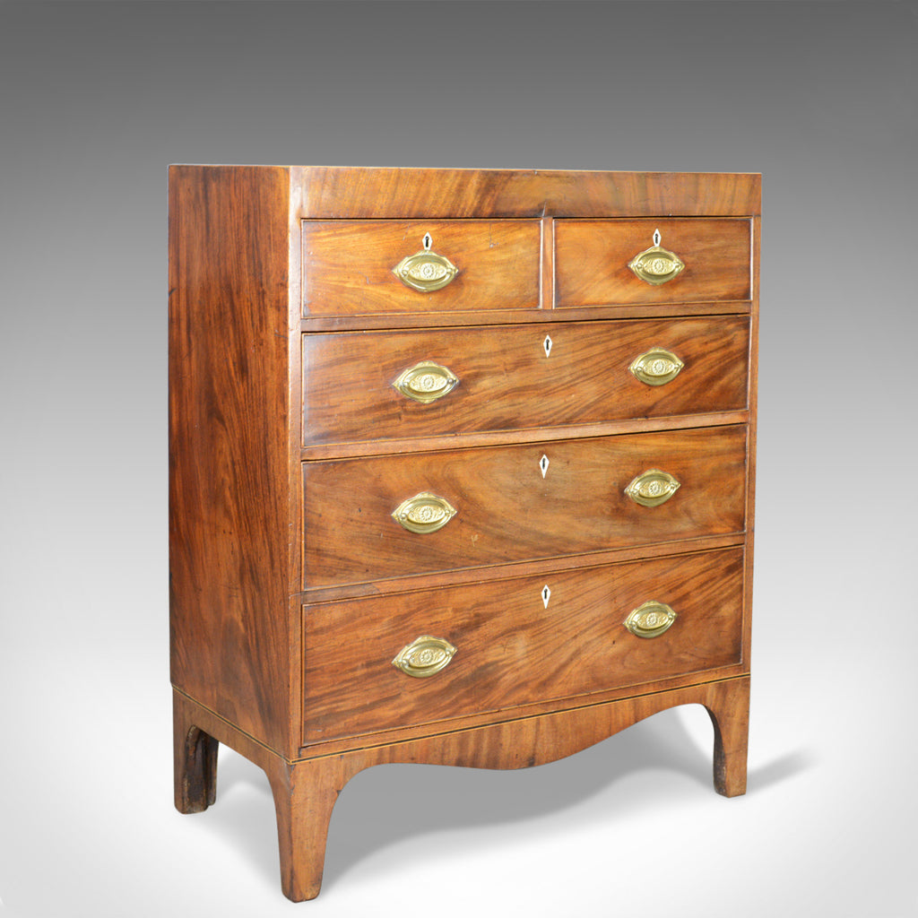 Antique Chest of Drawers, Manner of Sheraton, English, Georgian, Circa 1780 - London Fine Antiques