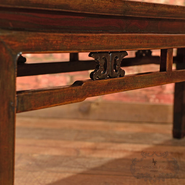 Antique Chinese Bench, c.1900 - London Fine Antiques - 7