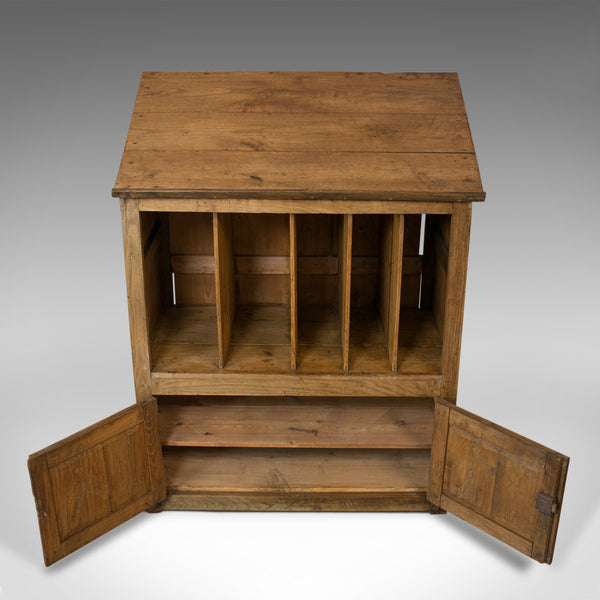 Antique Clerks Standing Desk, Victorian, Pine, Writing Table, Lectern c1890 - London Fine Antiques