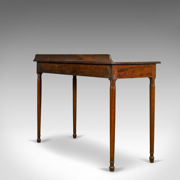 Antique Console Table, English, Georgian, Mahogany, Side, Circa 1800 - London Fine Antiques