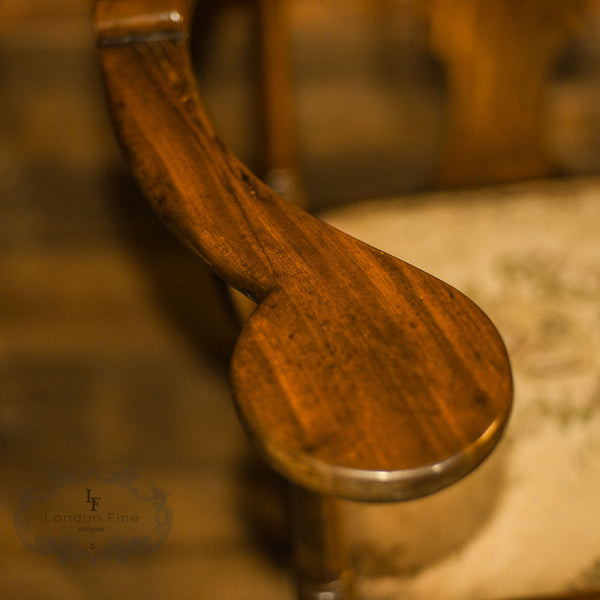 Late Georgian Corner Elbow Chair, c.1790 - London Fine Antiques - 8