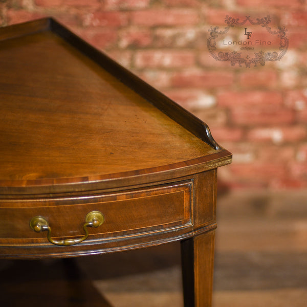 Edwardian Corner Table, C18th Revival, c.1910 - London Fine Antiques - 8