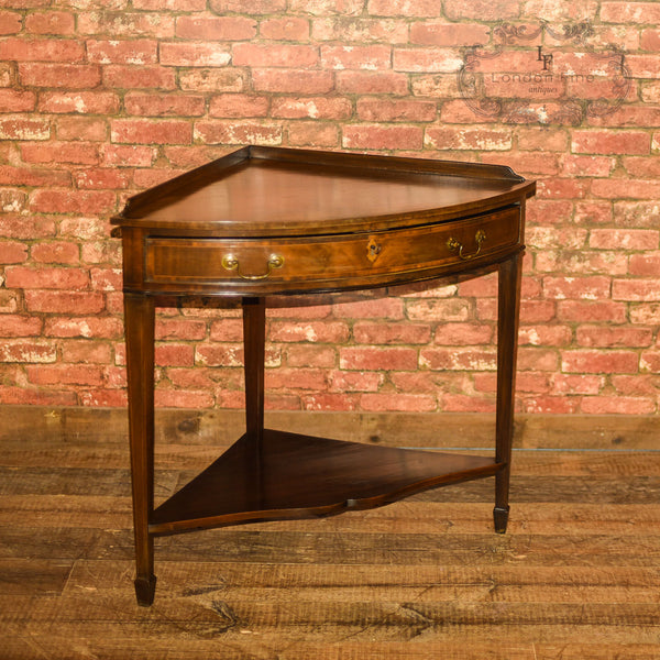 Edwardian Corner Table, C18th Revival, c.1910 - London Fine Antiques
