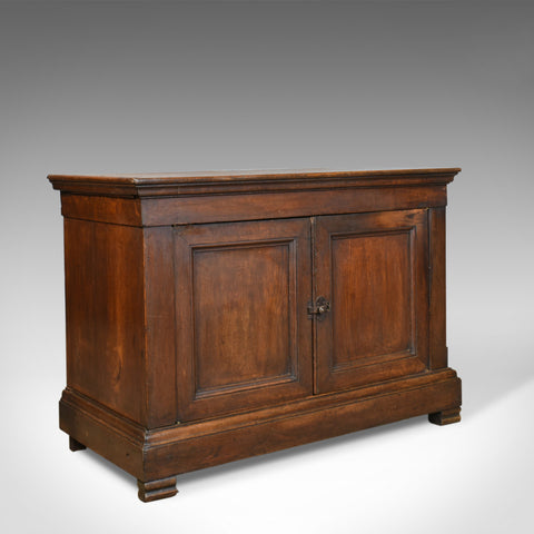 Antique Cupboard, 19th Century, French, Oak, Cabinet Circa 1850