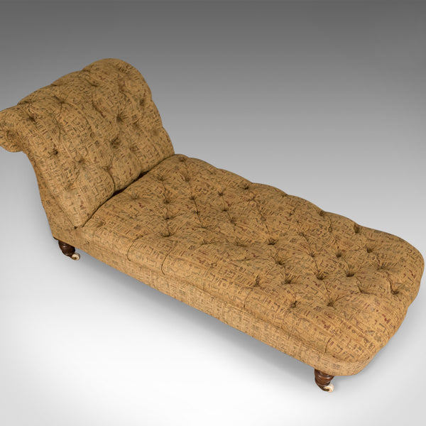 Antique Daybed, Reclining Chaise Longue, Victorian, Late 19th Century Circa 1900 - London Fine Antiques