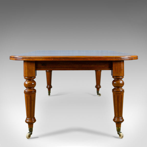 Antique Dining Table, English, Mahogany, Victorian, Extending, Seats 10, c.1860 - London Fine Antiques