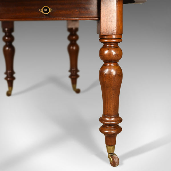 Antique Dining Table, Victorian, Mahogany, Extending, Six Seater Circa 1850 - London Fine Antiques