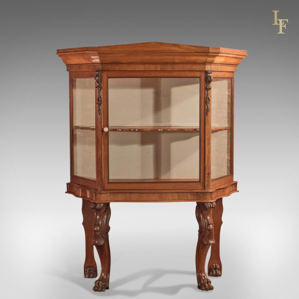 Regency Glazed Display Cabinet, c.1820 - London Fine Antiques
