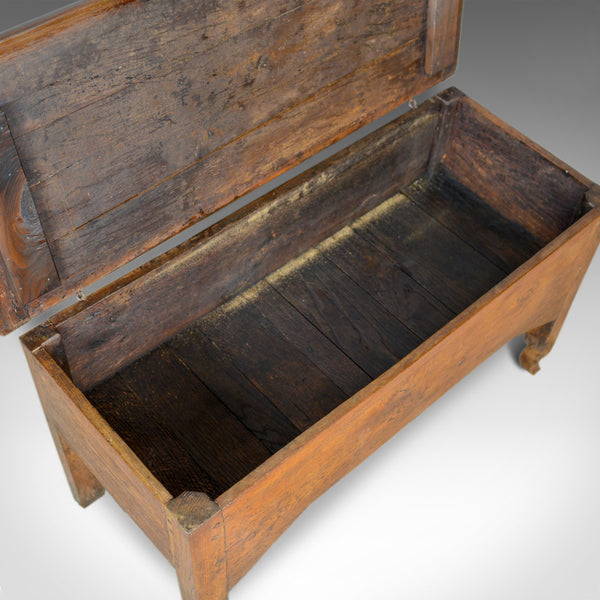 Antique Dough Bin, Large, French, Fruitwood, Proving Chest, Mid C19th Circa 1850 - London Fine Antiques