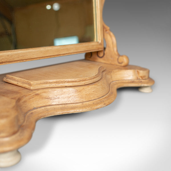 Antique Dressing Table Mirror, English Victorian, Vanity, Toilet, Painted, c1870 - London Fine Antiques