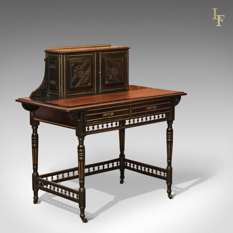 Aesthetic Movement Antique Bonheur du Jour, c.1880 - London Fine Antiques