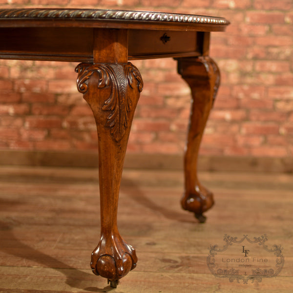 Victorian Extending Dining Table, c.1890 - London Fine Antiques - 5