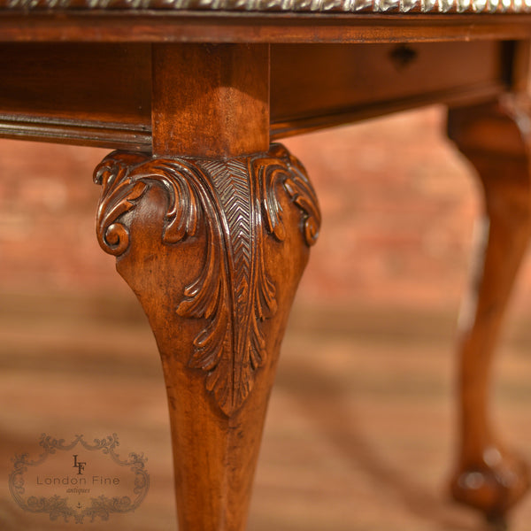 Victorian Extending Dining Table, c.1890 - London Fine Antiques - 6