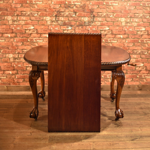 Victorian Extending Dining Table, c.1890 - London Fine Antiques - 10