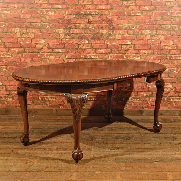 Victorian Extending Dining Table, c.1900 - London Fine Antiques - 1