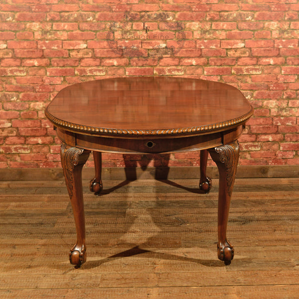Victorian Extending Dining Table, c.1900 - London Fine Antiques - 3