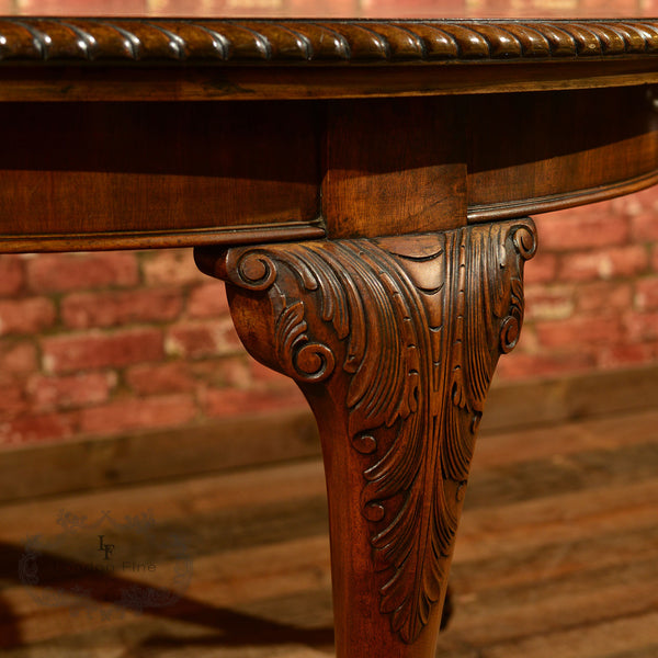 Victorian Extending Dining Table, c.1900 - London Fine Antiques - 6