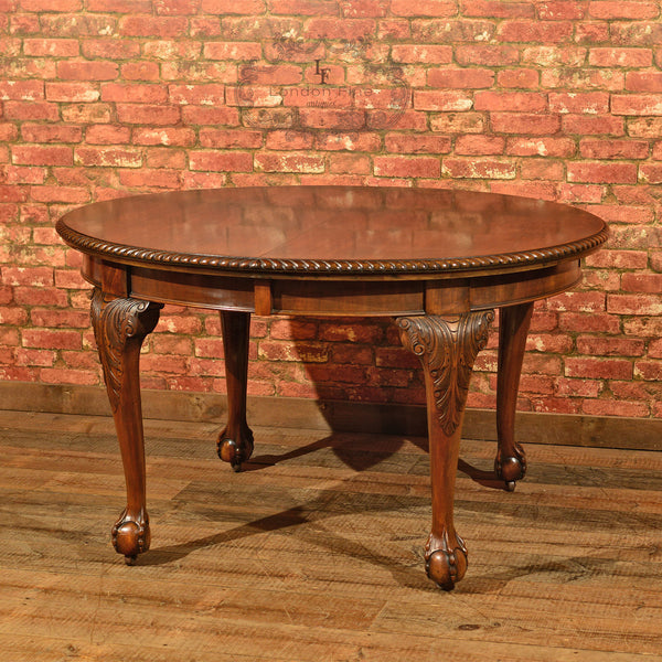 Victorian Extending Dining Table, c.1900 - London Fine Antiques - 10