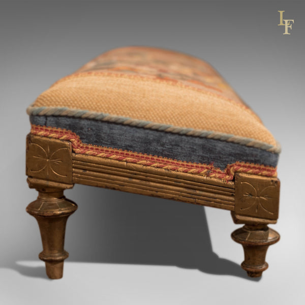 Victorian Carriage Foot Stool, c.1880