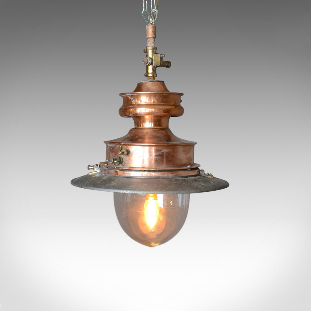 Antique Gas Lamp, Converted For Modern Home, English, 19th Century, Circa 1880 - London Fine Antiques