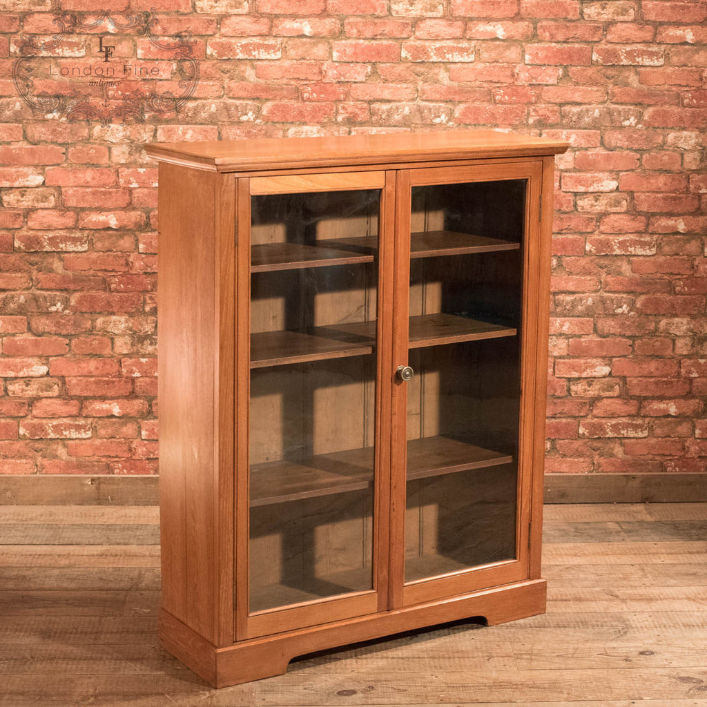 Victorian Glazed Bookcase Cabinet, c.1900 - London Fine Antiques