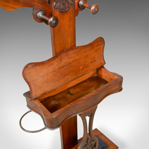 Antique Hall Stand, Edwardian, Mahogany, Tree, Hat, Coat, Umbrella, Circa 1910 - London Fine Antiques
