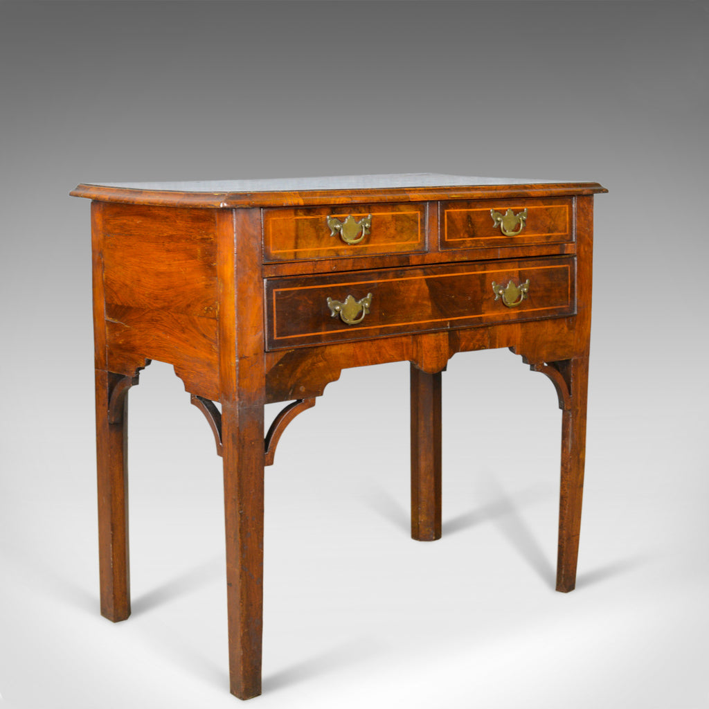 Antique Lowboy, English, Georgian, Walnut, Side Table, Early C19th, Circa 1800 - London Fine Antiques
