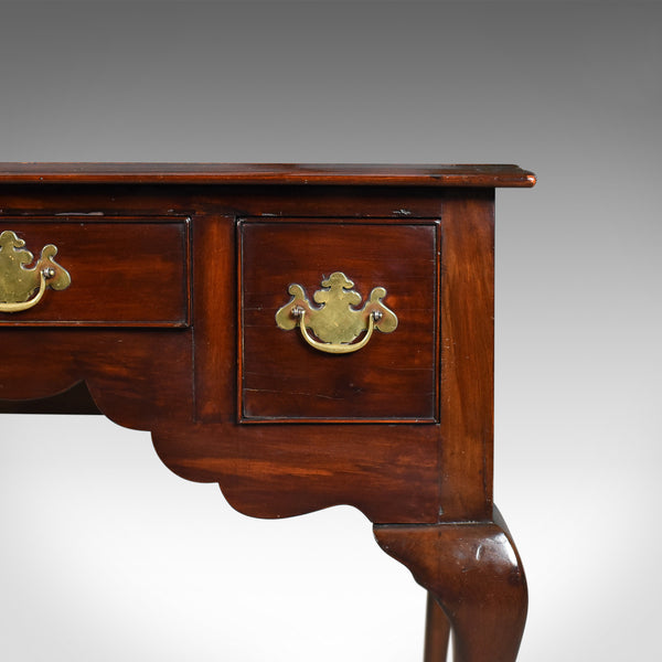 Antique Lowboy, English, Late Victorian, Mahogany Table, Circa 1900 - London Fine Antiques