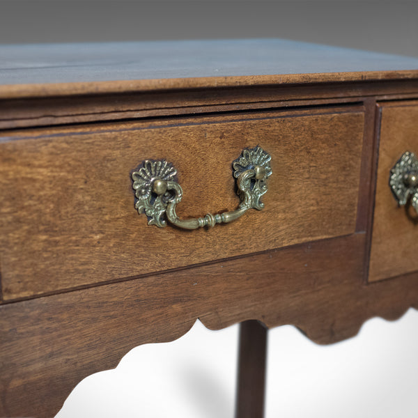 Antique Lowboy, Mahogany, English, Victorian Side Table Circa 1900 - London Fine Antiques