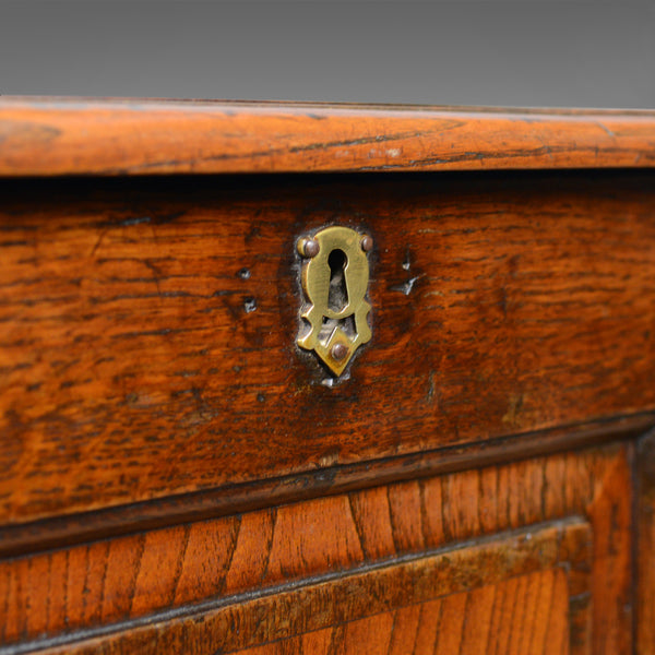 Antique Mule Chest, English, Oak, Trunk, 18th Century, Circa 1700 - London Fine Antiques