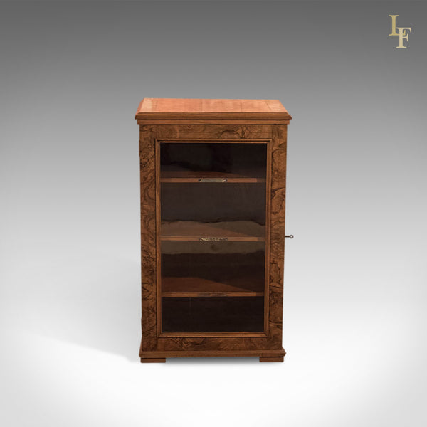 Antique Music Cabinet, Early Victorian c1850 - London Fine Antiques