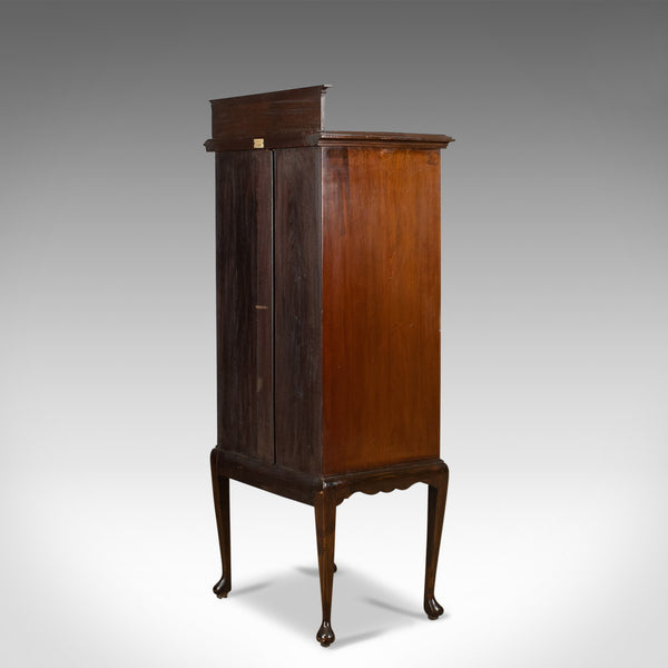 Antique Music Cabinet, Maggs & Co, Clifton, Edwardian, Mahogany, Circa 1910 - London Fine Antiques