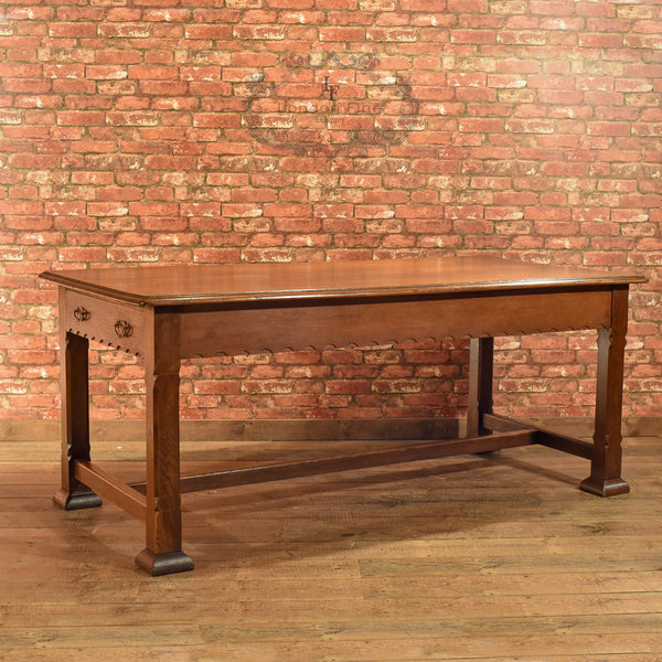 Arts & Crafts Oak Table, Liberty Quality c.1900 - London Fine Antiques