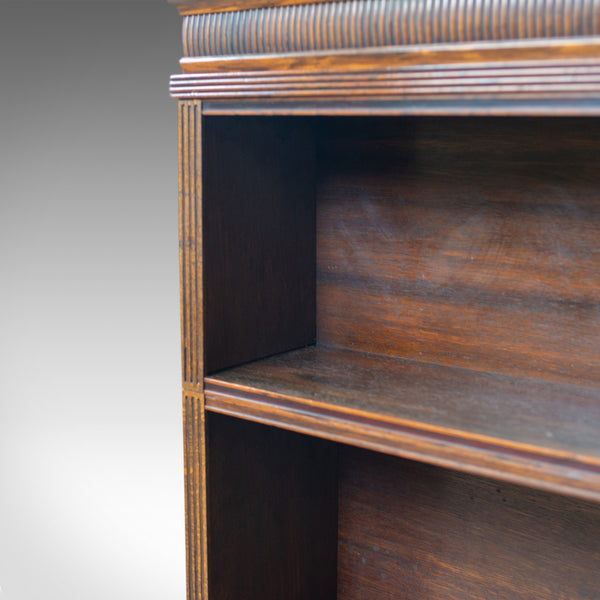 Antique Open Bookcase, English, Regency and Later, Bookshelves, Rosewood, c1830