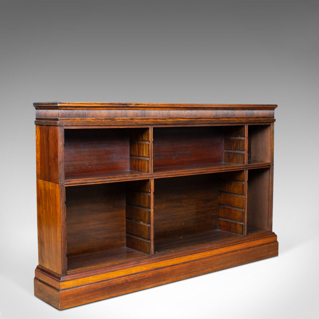 Antique Open Bookcase, Regency and Later, Bookshelves, Rosewood, Circa 1830 - London Fine Antiques