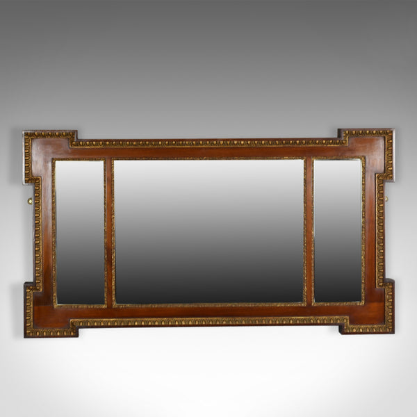 Antique Overmantel Mirror, Edwardian, Regency Revival, Wall Mirror, Circa 1910 - London Fine Antiques