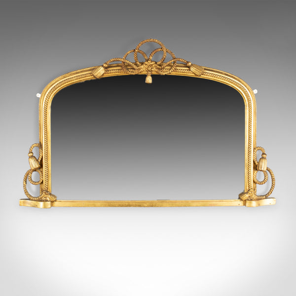 Antique Overmantel Mirror, English Regency, Dome, Wall, Nautical, Giltwood c1830 - London Fine Antiques