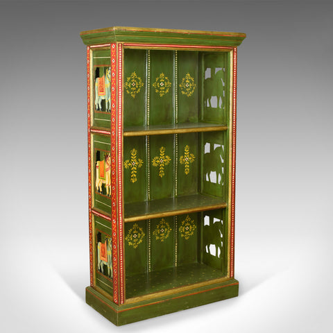 Antique Painted Bookcase, European, Scandinavian, Bookshelf Circa 1900
