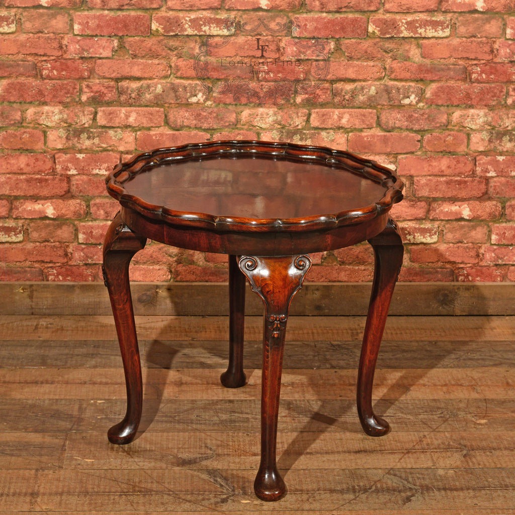 Victorian Pie Crust Coffee Table, c.1900 - London Fine Antiques - 1