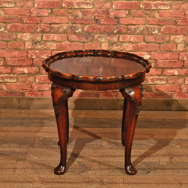 Victorian Pie Crust Coffee Table, c.1900 - London Fine Antiques - 2