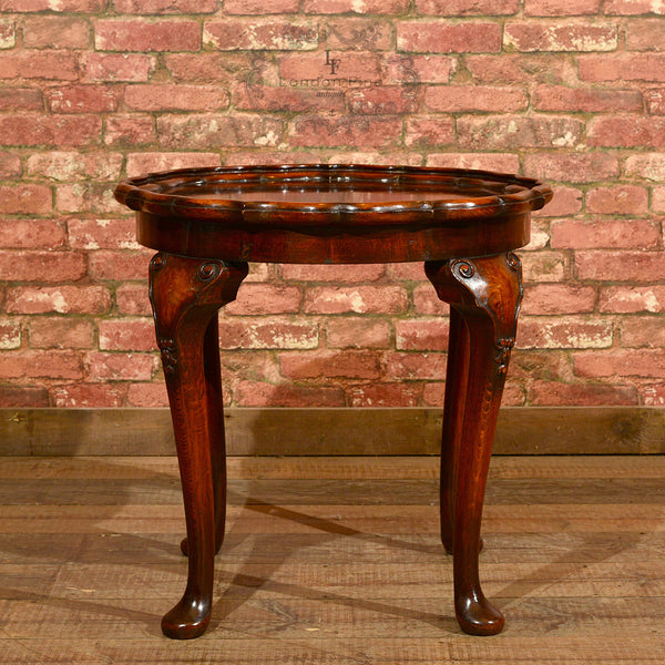 Victorian Pie Crust Coffee Table, c.1900 - London Fine Antiques - 3