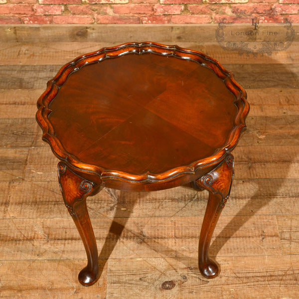 Victorian Pie Crust Coffee Table, c.1900 - London Fine Antiques - 4