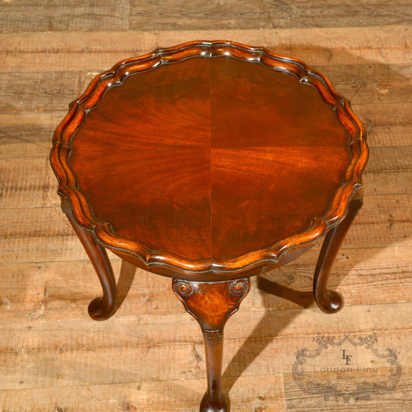 Victorian Pie Crust Coffee Table, c.1900 - London Fine Antiques - 5