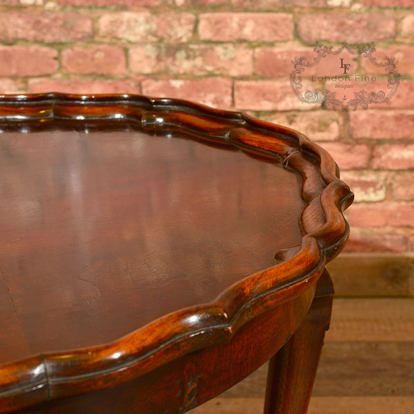 Victorian Pie Crust Coffee Table, c.1900 - London Fine Antiques - 7