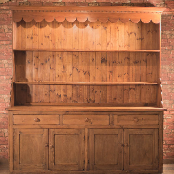 Victorian Large Pine Dresser, c.1875 - London Fine Antiques