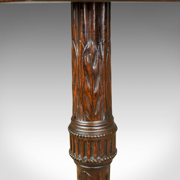 Antique Plant Stand, English, Victorian, Torchere, Table, Mahogany, Circa 1880 - London Fine Antiques